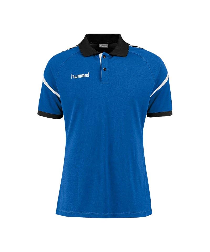 Hummel Poloshirt Charge Functional Blau F7045 - blau