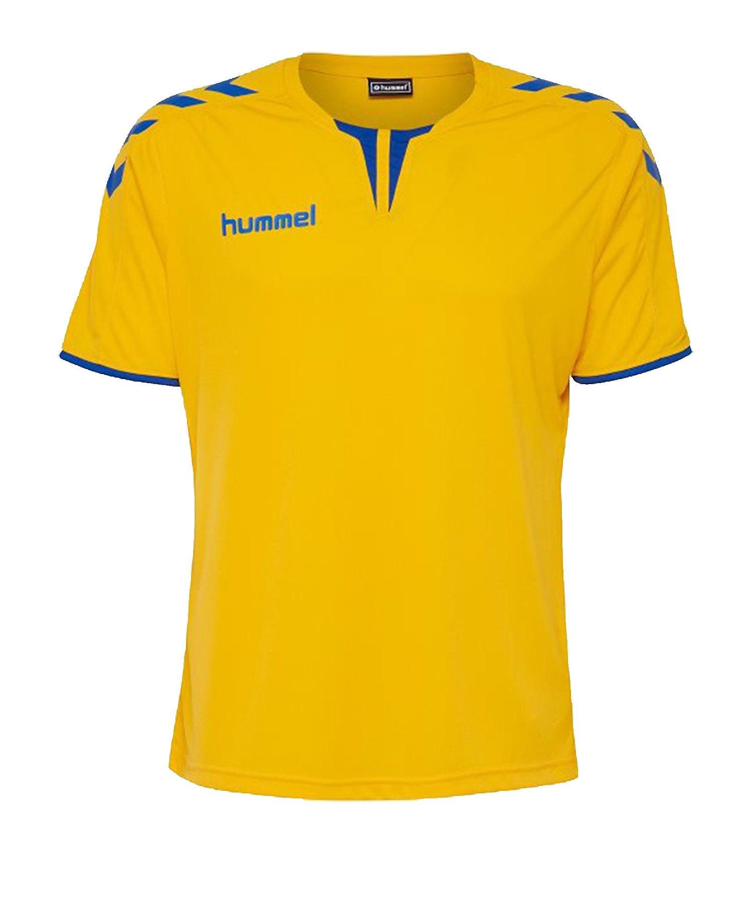 Hummel Core Trikot kurzarm Gelb Blau F5167 - gelb