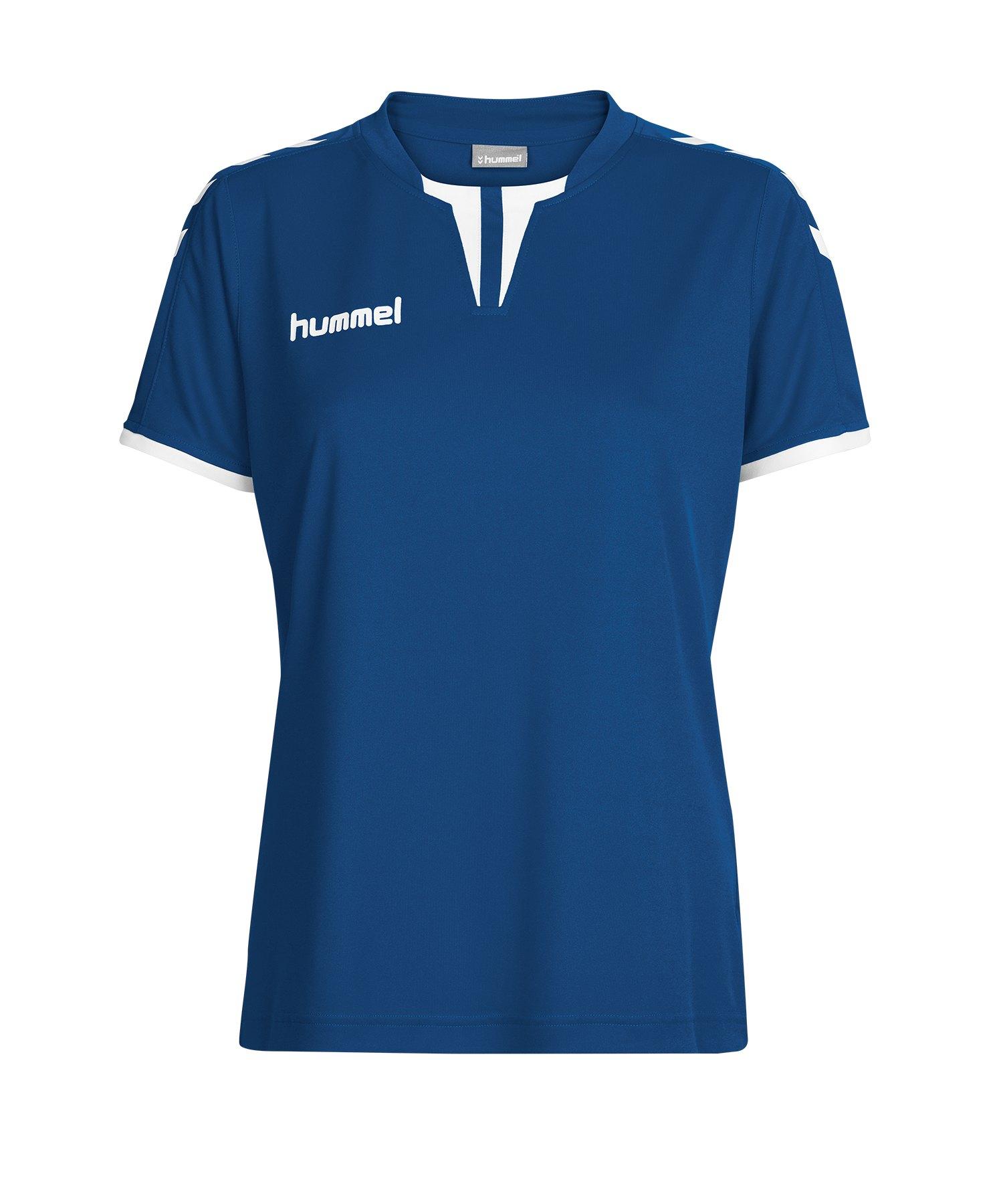 Hummel Core Trikot kurzarm Damen Blau F7044 - blau