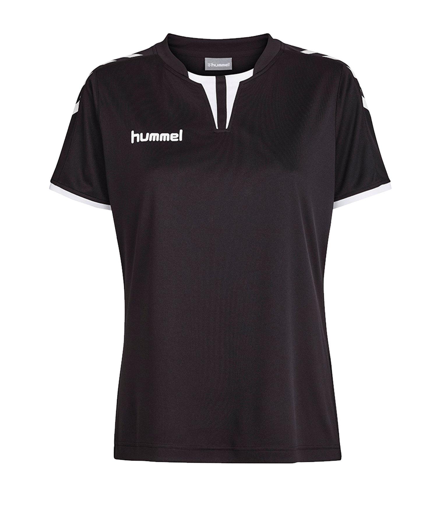 Hummel Core Trikot kurzarm Damen Schwarz F2005 - schwarz