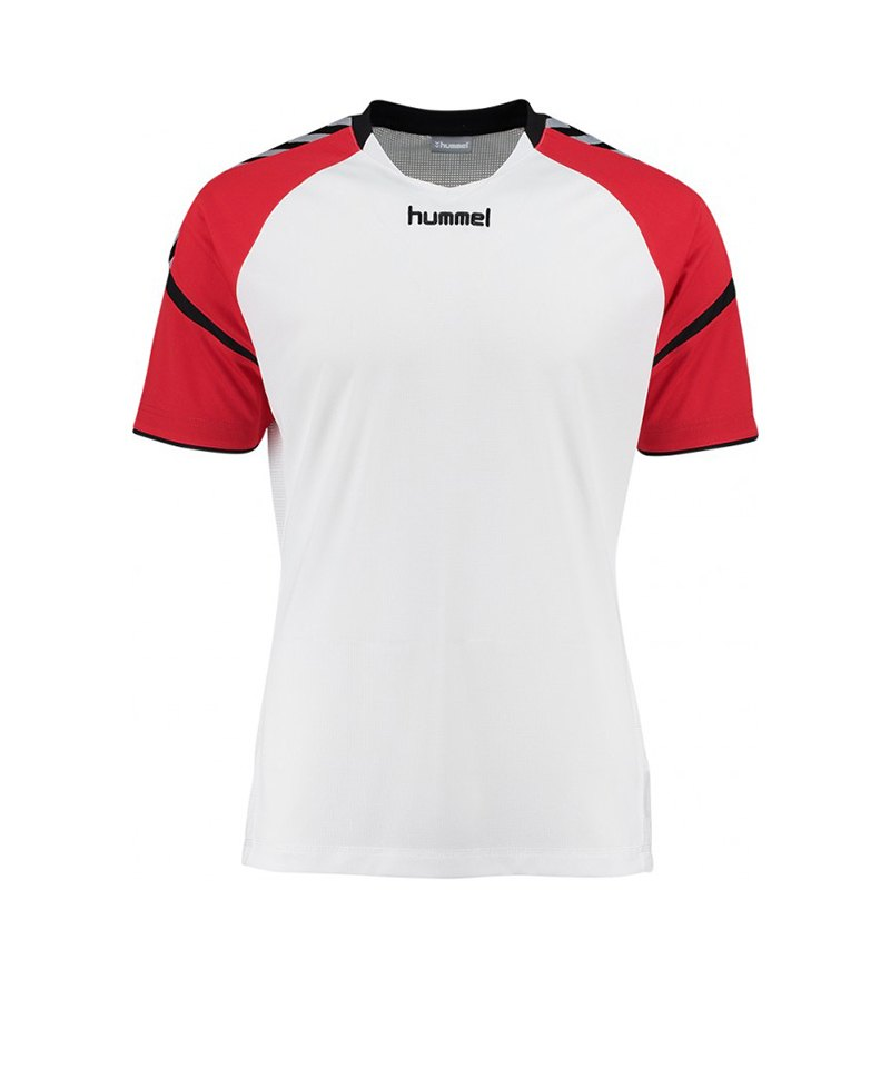 Hummel Trikot Authentic Charge SS Weiss F9402 - weiss