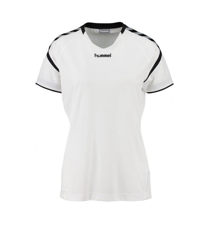 Hummel Authentic Charge SS Poly Trikot Damen F9001 - weiss