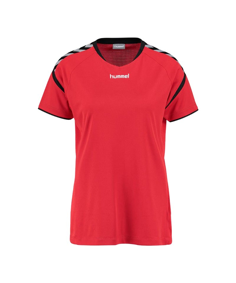 Hummel T-Shirt Authentic Charge SS Poly Damen 3062 - rot
