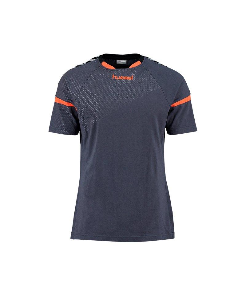 Hummel Authentic Charge SS T-Shirt F8730 - blau