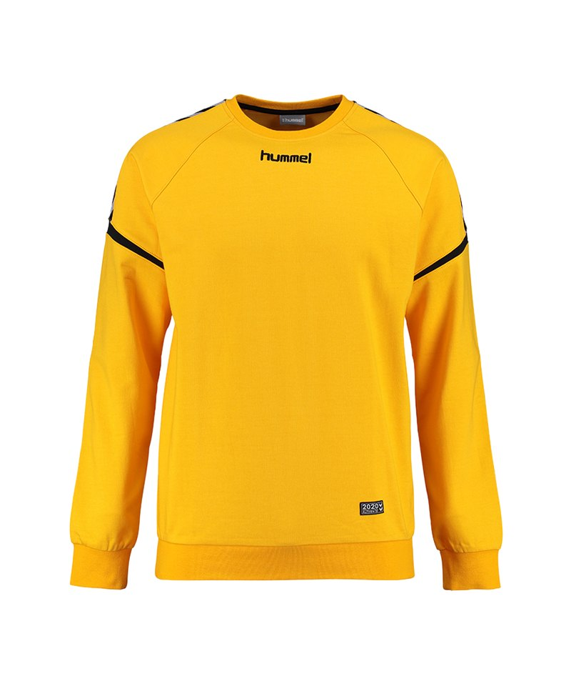 Hummel Authentic Charge Cotton Sweatshirt F5001 - gelb