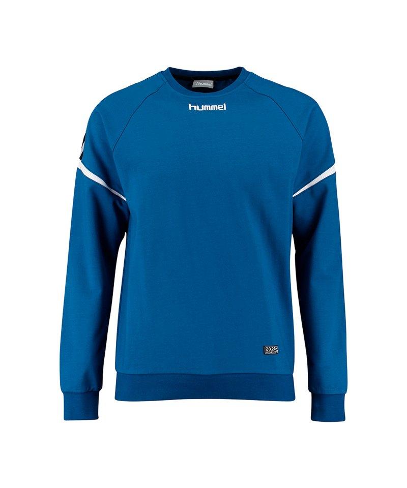 Hummel Authentic Charge Cotton Sweatshirt F7045 - blau