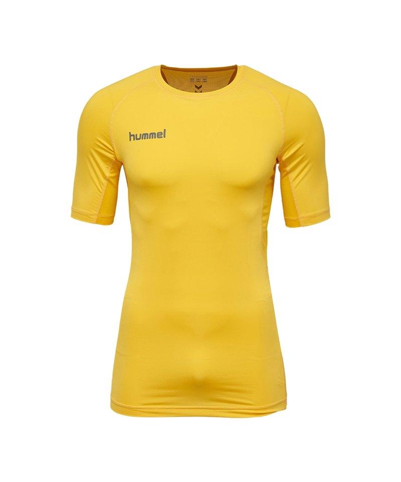 Hummel First Performance Shirt kurz Gelb F5001 - gelb