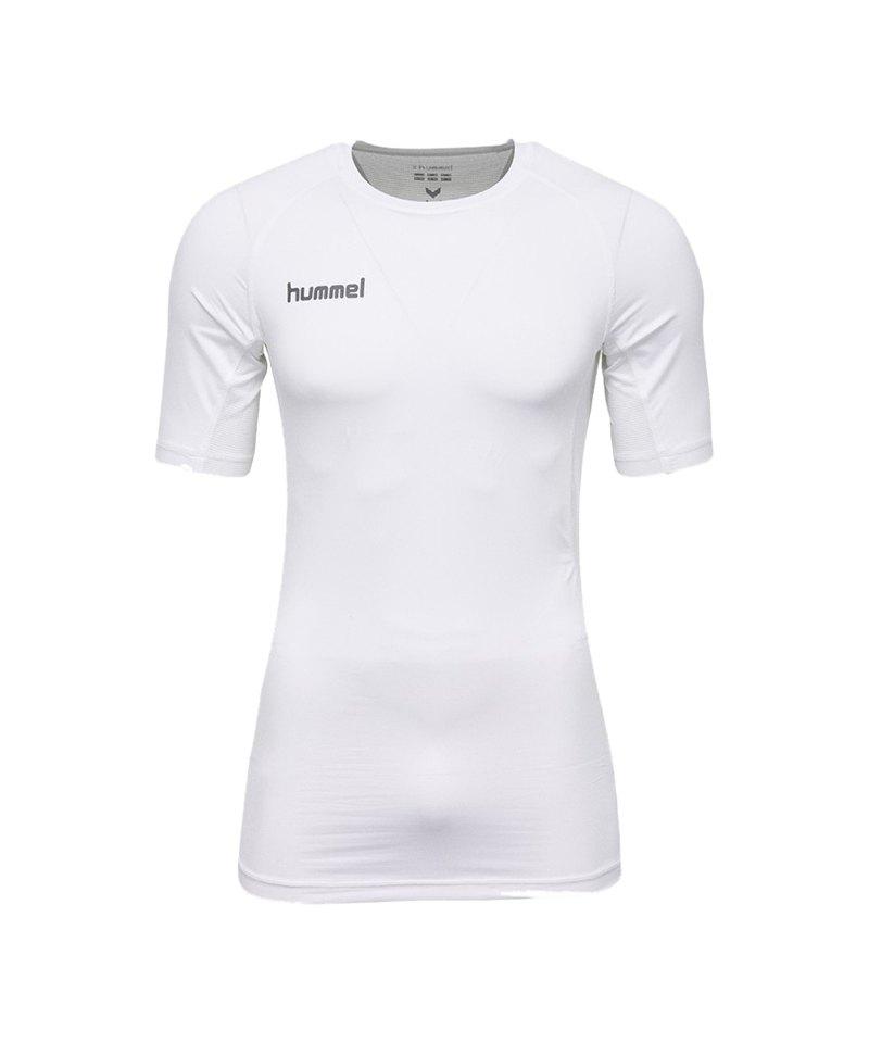 Hummel First Performance Shirt kurz Weiss F9001 - weiss