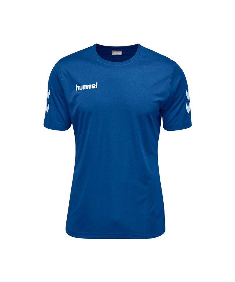 Hummel Core Polyester Tee T-Shirt Blau F7045 - blau