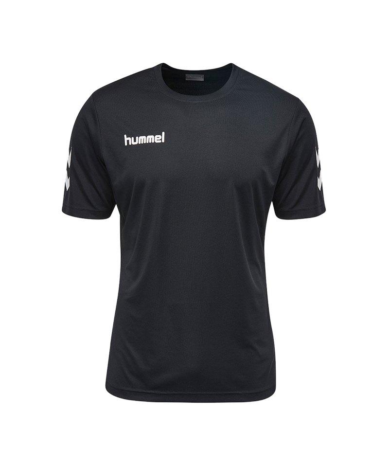 Hummel Core Polyester Tee T-Shirt Schwarz F2001 - schwarz