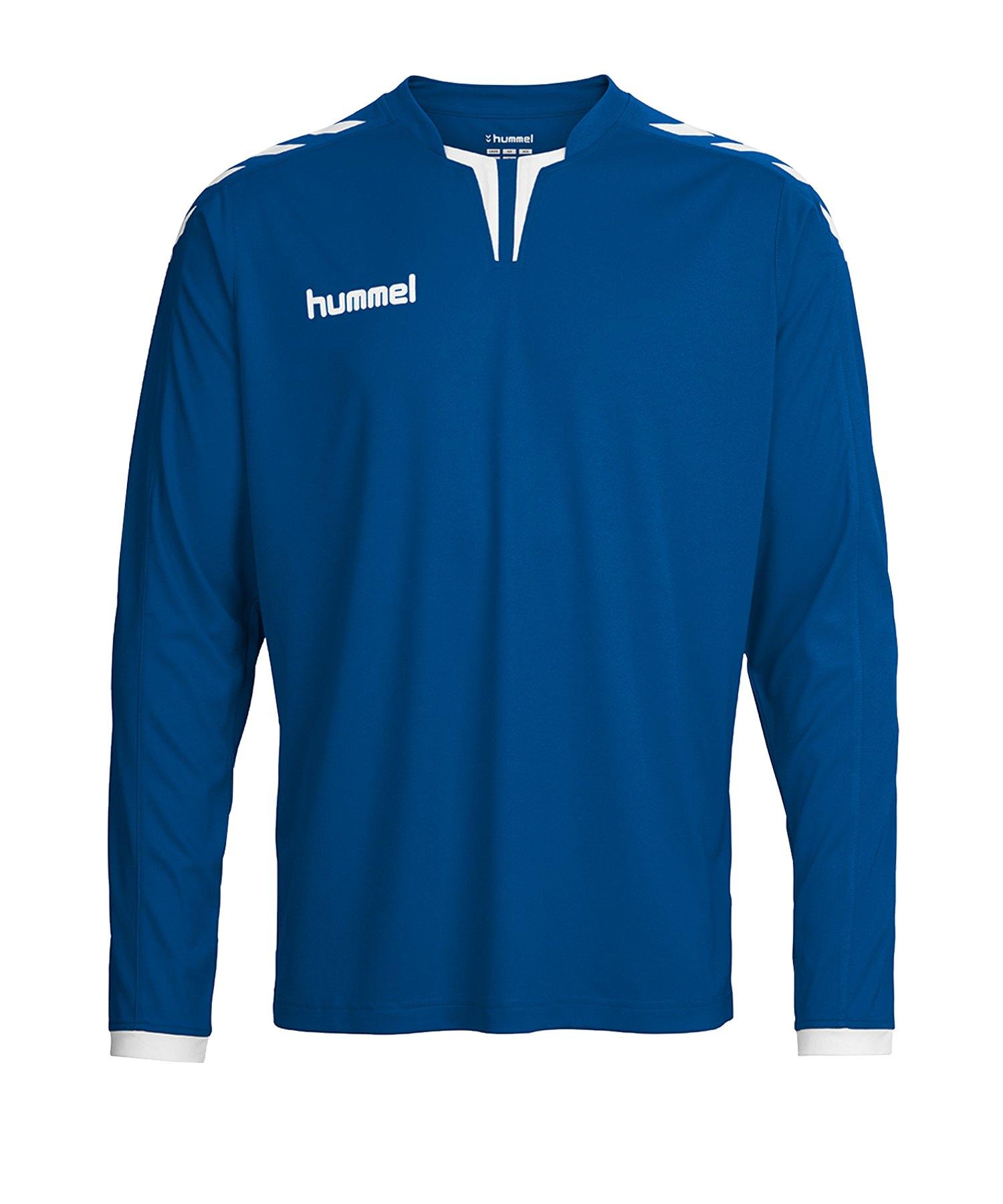 Hummel Core Trikot langarm Blau F7044 - blau