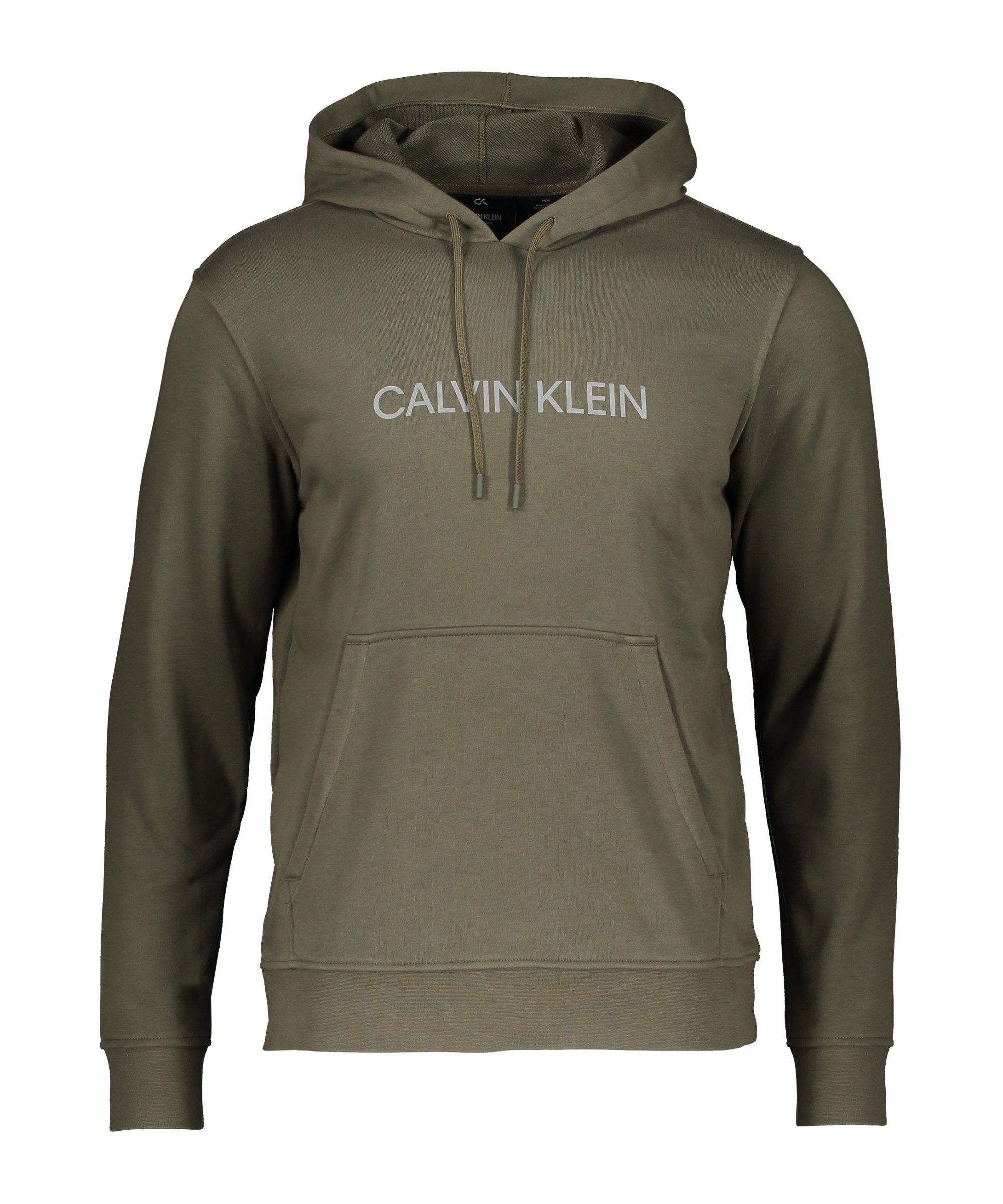 Calvin Klein Performance Hoody Grün F251 - gruen