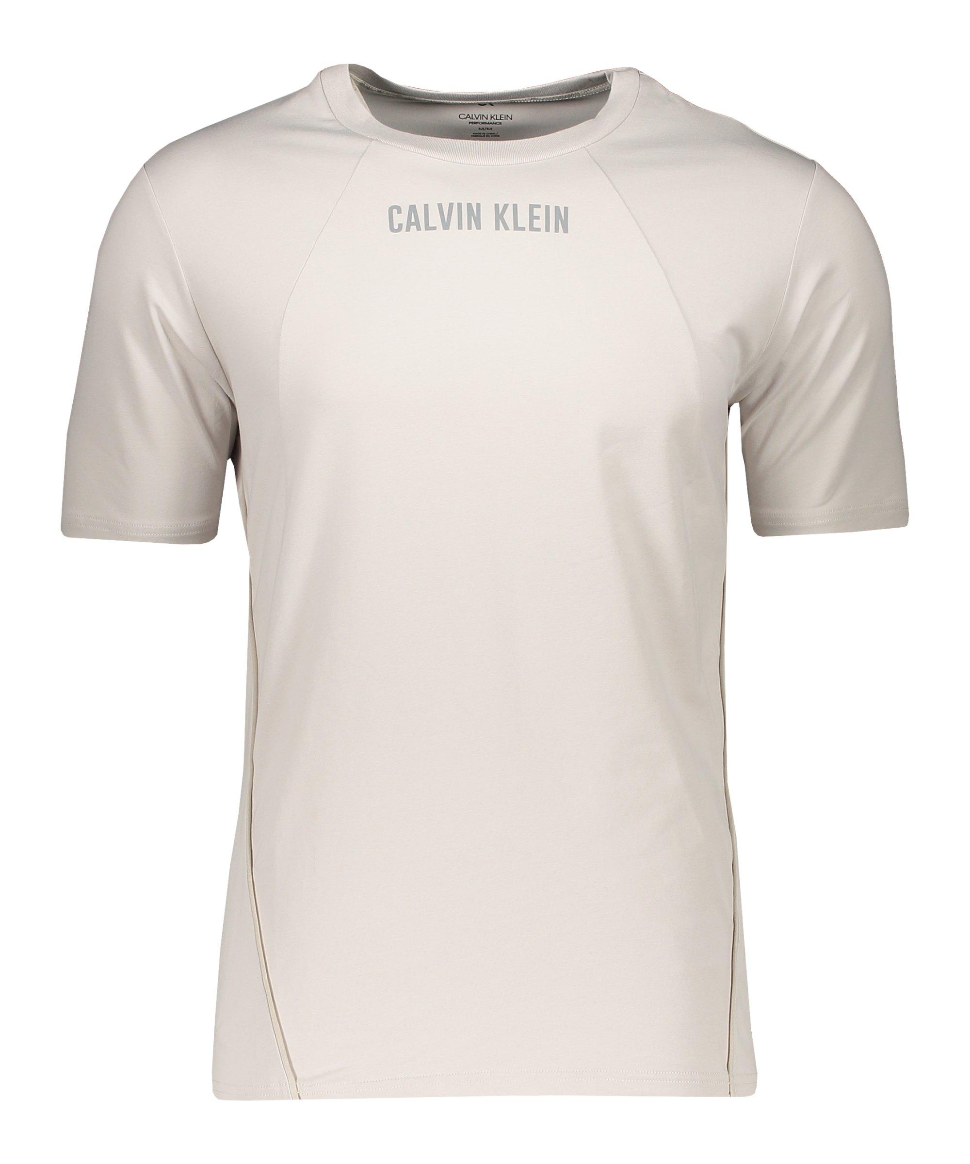 Calvin Klein T-Shirt Beige F082 - beige