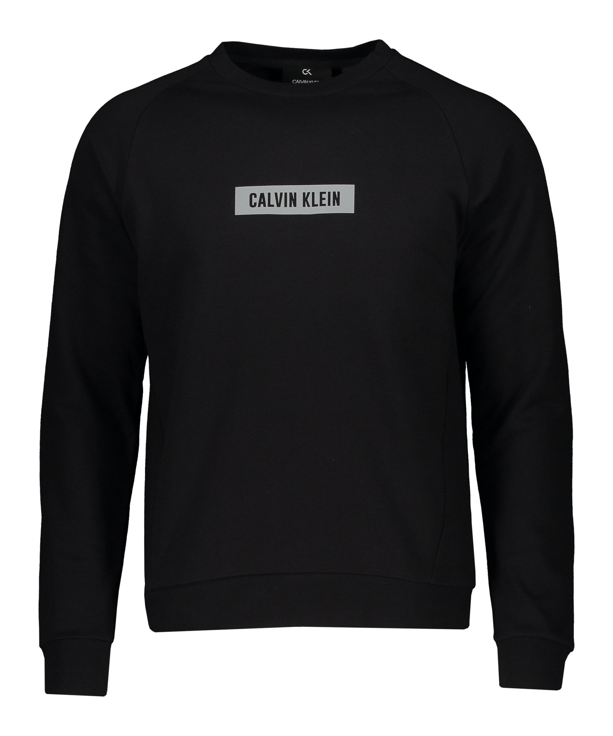 Calvin Klein Sweatshirt Schwarz F007 - schwarz
