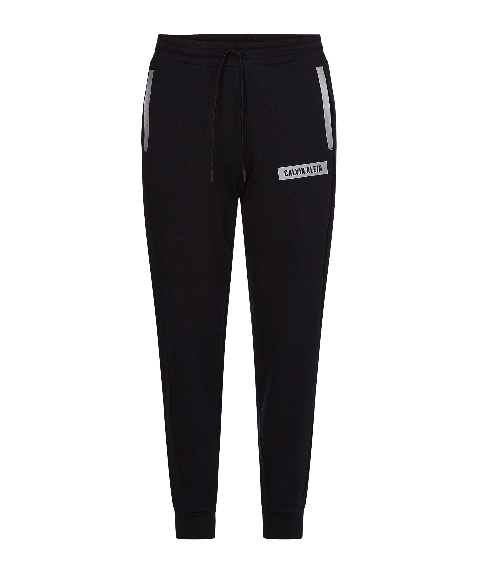 Calvin Klein Knit Jogginghose Damen Schwarz F007 - schwarz