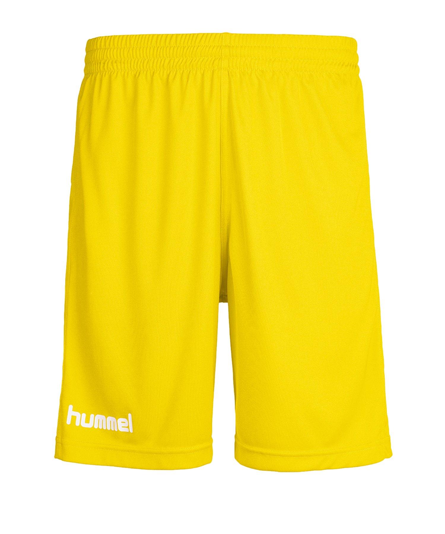 Hummel Core Short Gelb Weiß F5007 - gelb