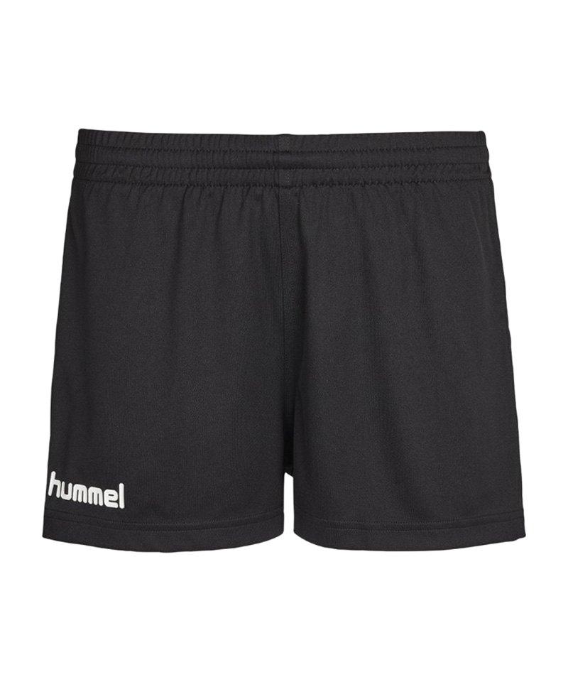 Hummel Core Short Damen Schwarz F2005 - schwarz