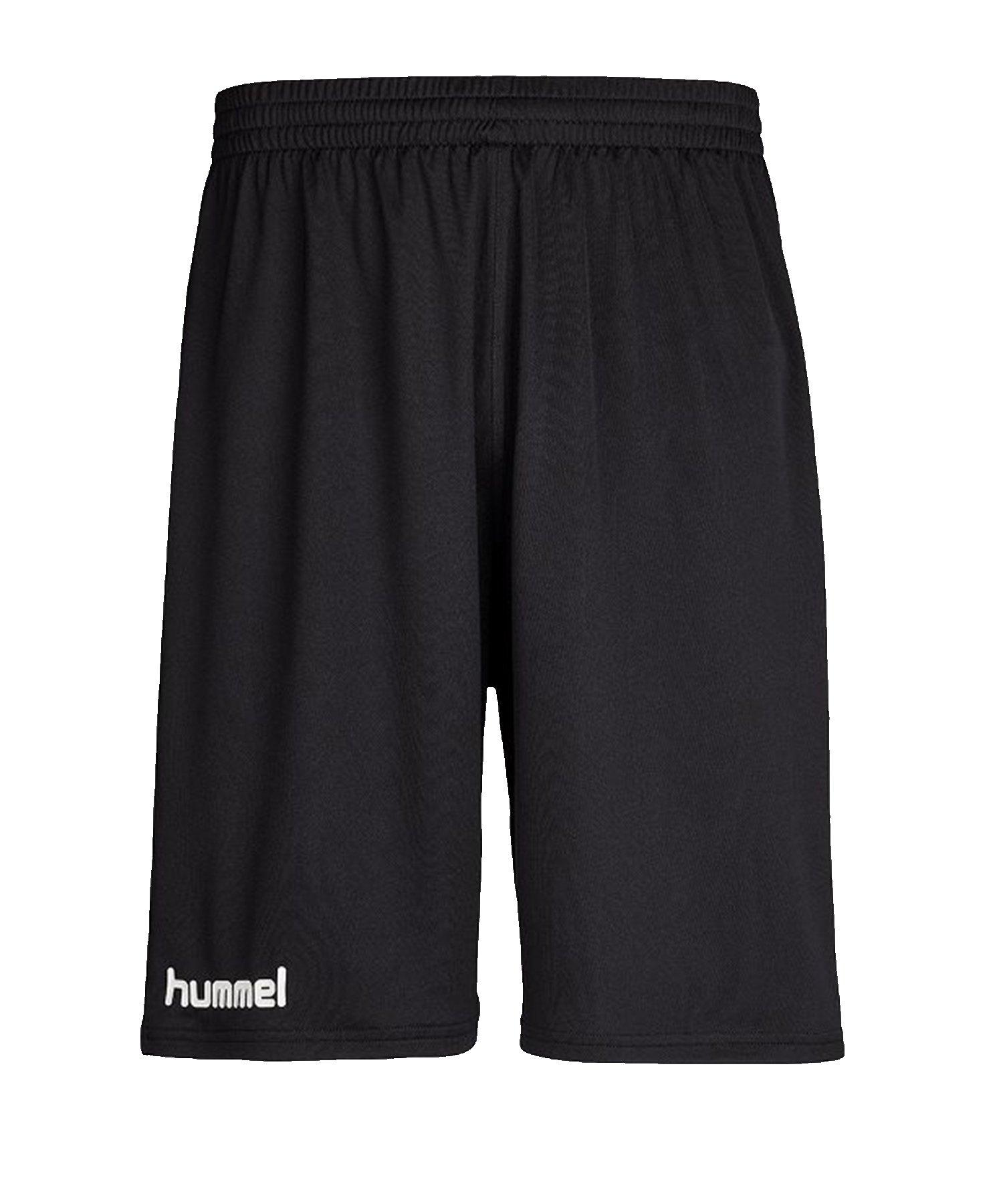 Hummel Core Basket Short Schwarz F2001 - schwarz