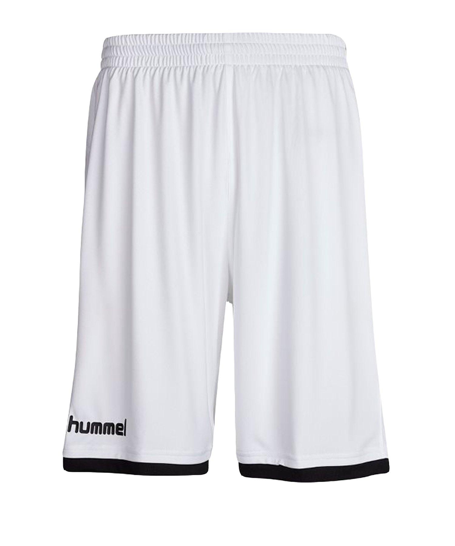 Hummel Core Basket Short Weiss F9001 - weiss