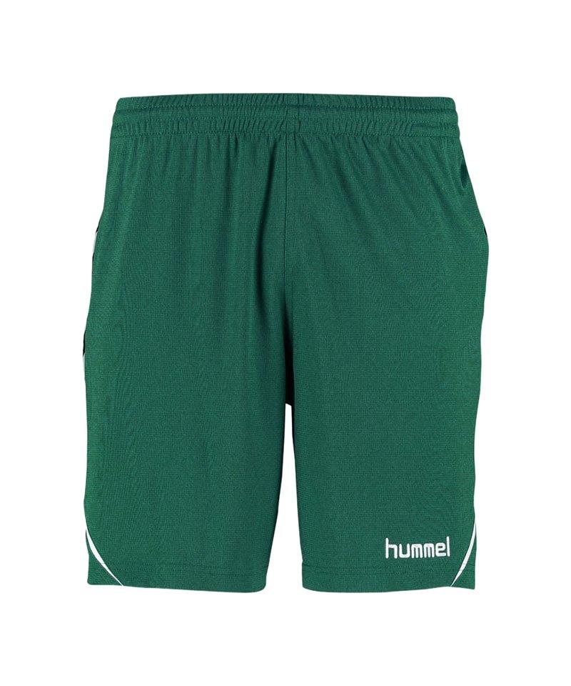 Hummel Shorts Authentic Charge Poly Grün F6140 - gruen