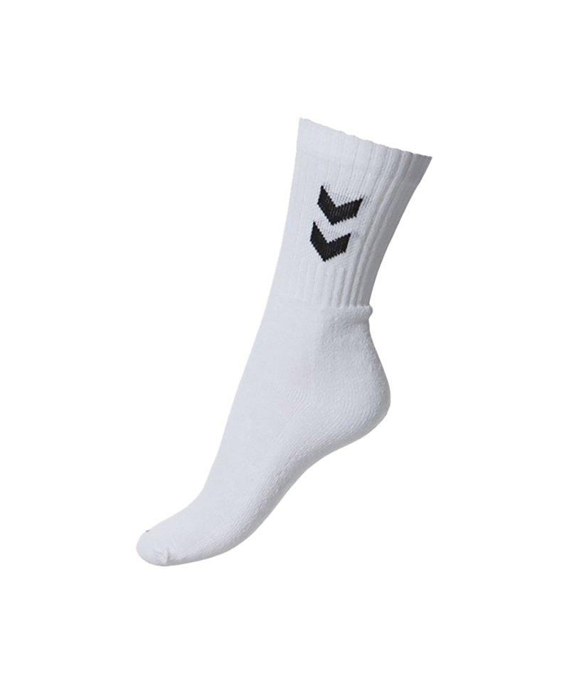 Hummel Socken Basic 3er Pack Weiss F9001 - weiss