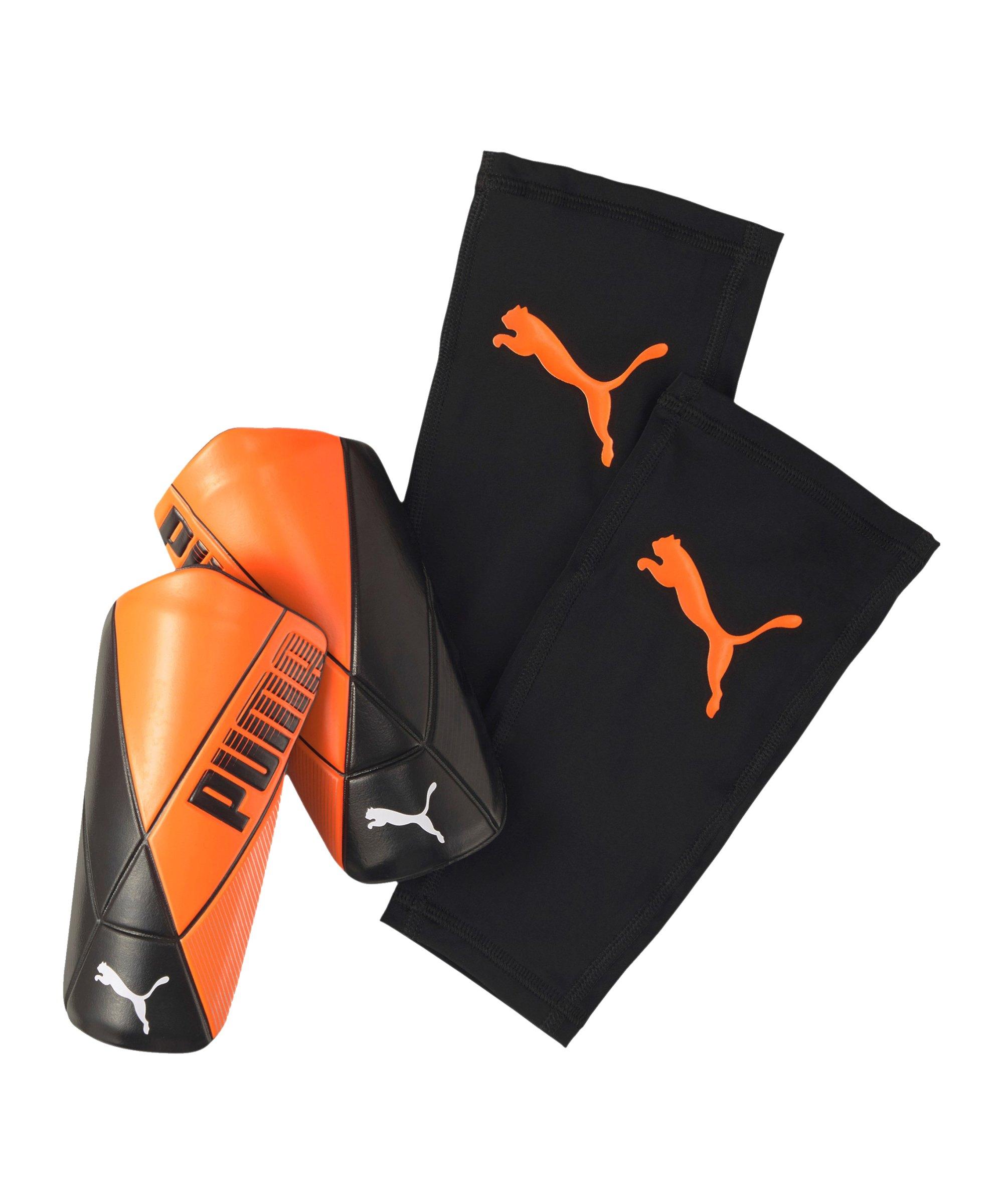 PUMA ftblNXT ULTIMATE Chasing Adrenalin Flex Schienbeinschoner F06 - orange