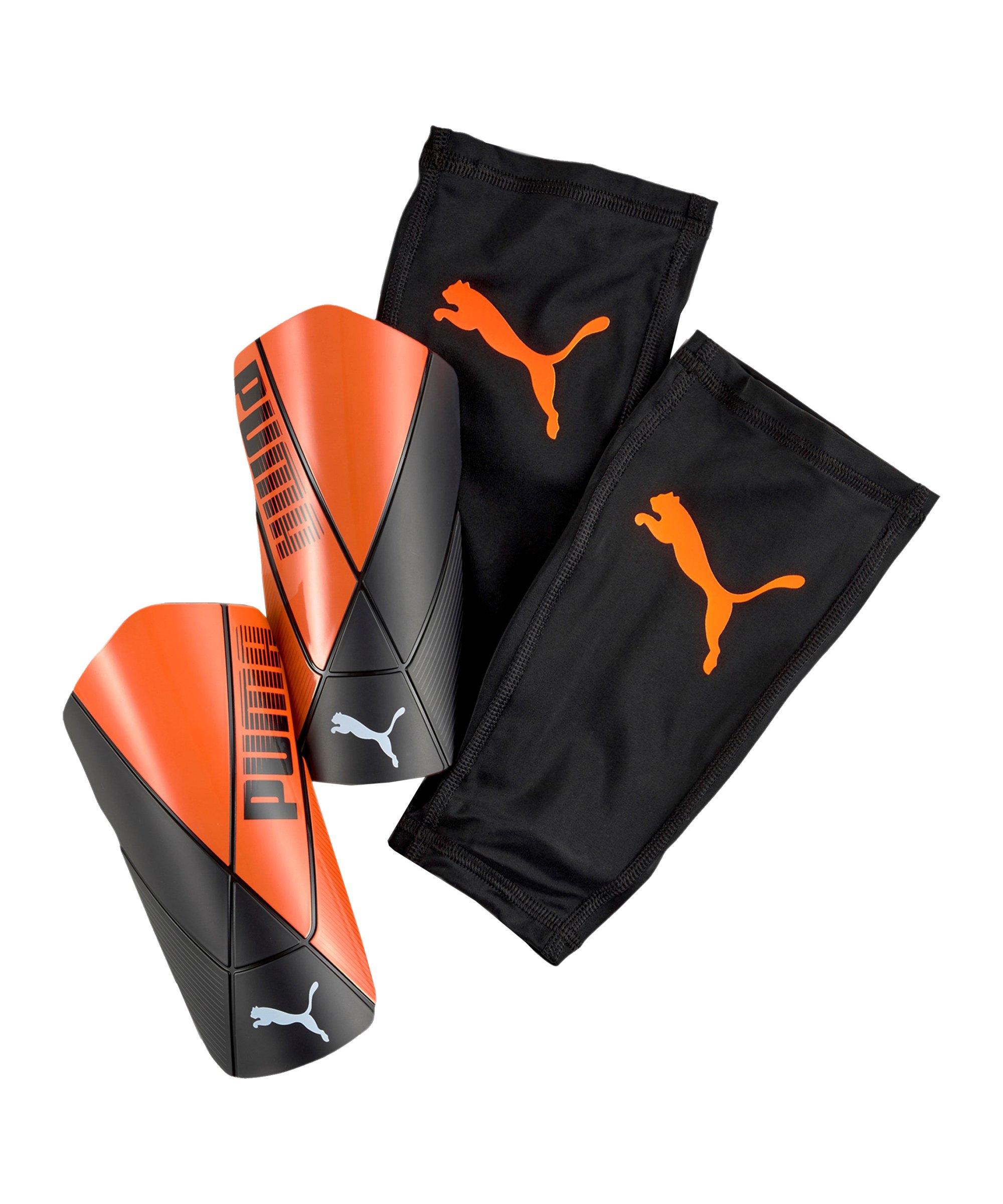 PUMA ftblNXT PRO Flex Chasing Adrenalin Schienbeinschoner F06 - orange