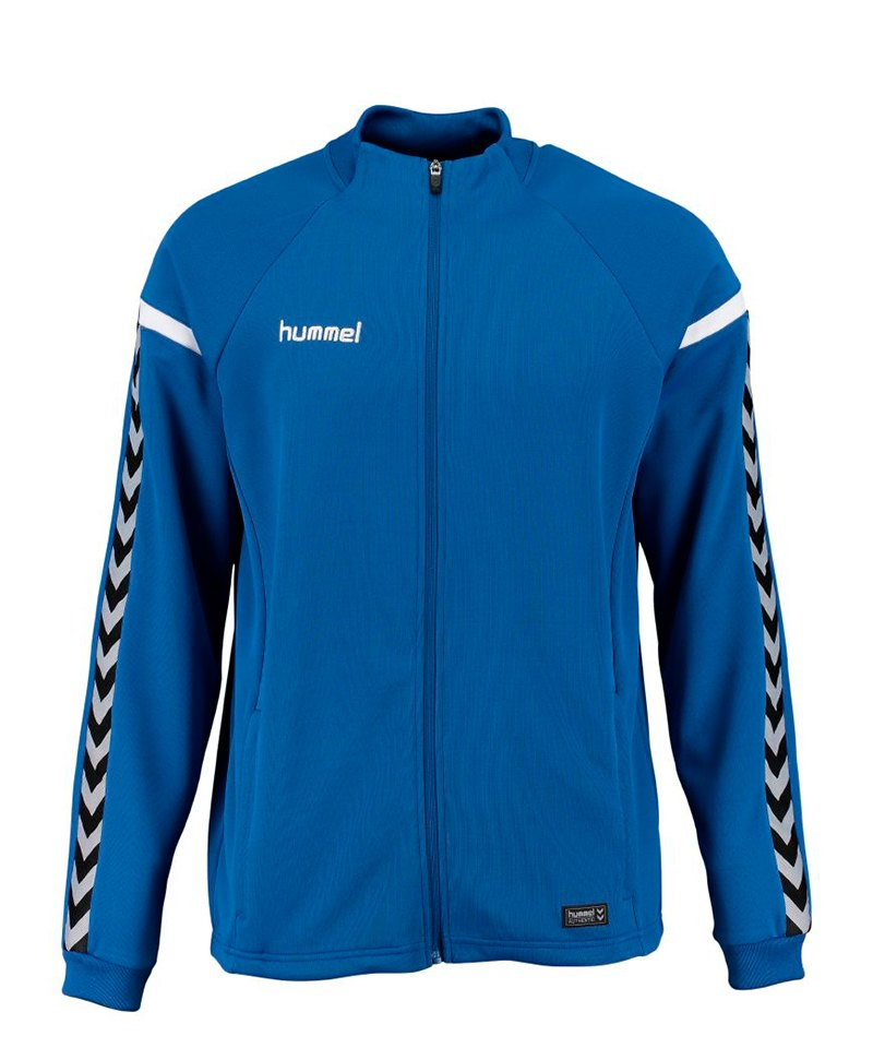 Hummel Zip-Jacke Authentic Charge Blau F7045 - blau