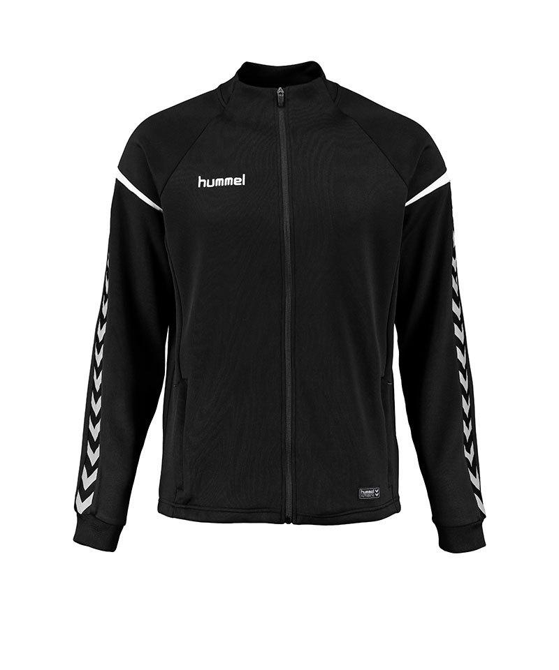 Hummel Zip-Jacke Authentic Charge Schwarz F2001 - schwarz