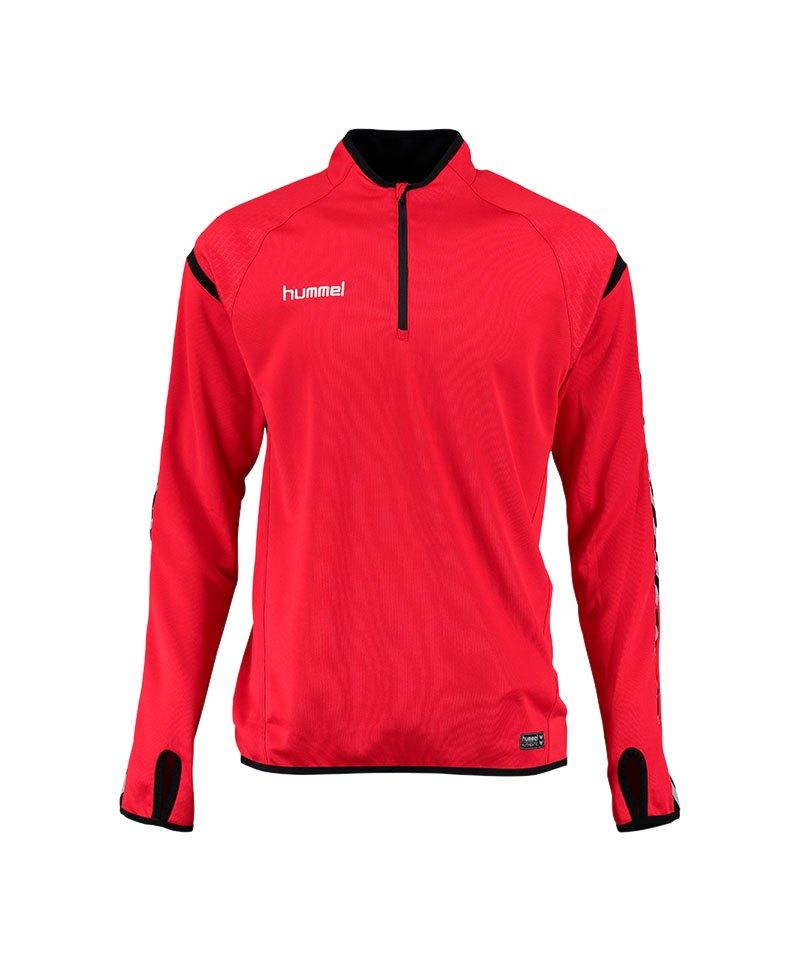 Hummel Sweatshirt Authentic Charge Rot F3062 - rot