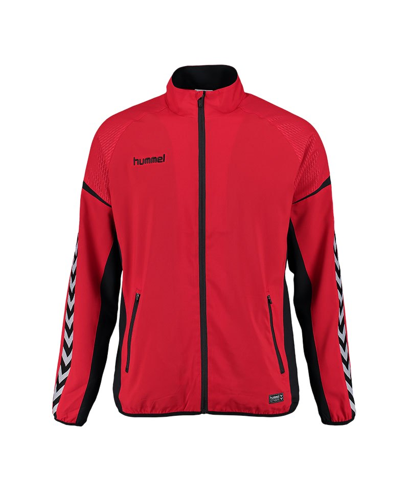Hummel Jacke Authentic Charge Micro Rot F3062 - rot