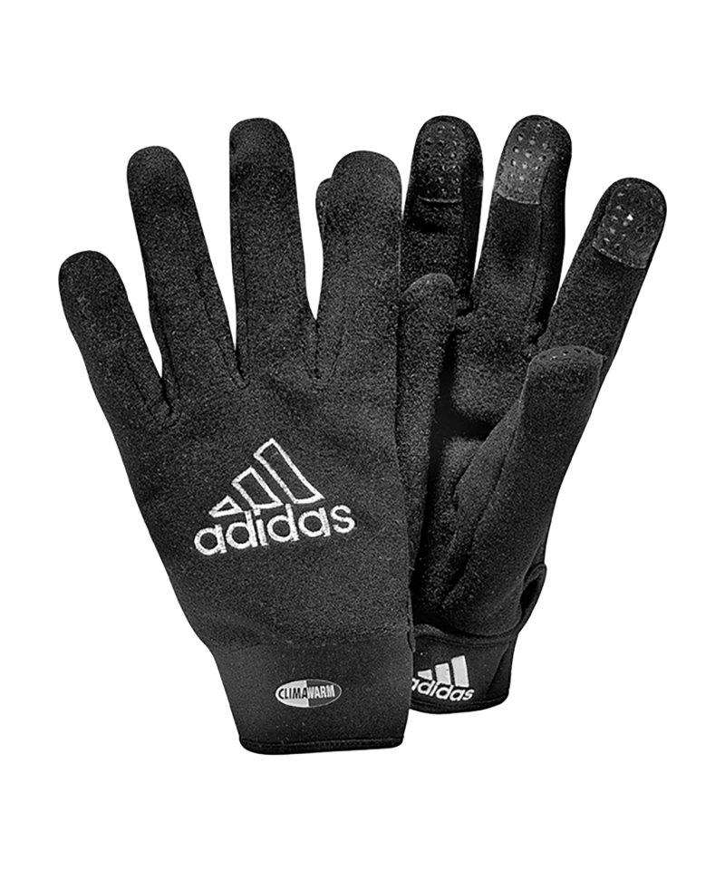 adidas Handschuh Feldspieler Schwarz - schwarz