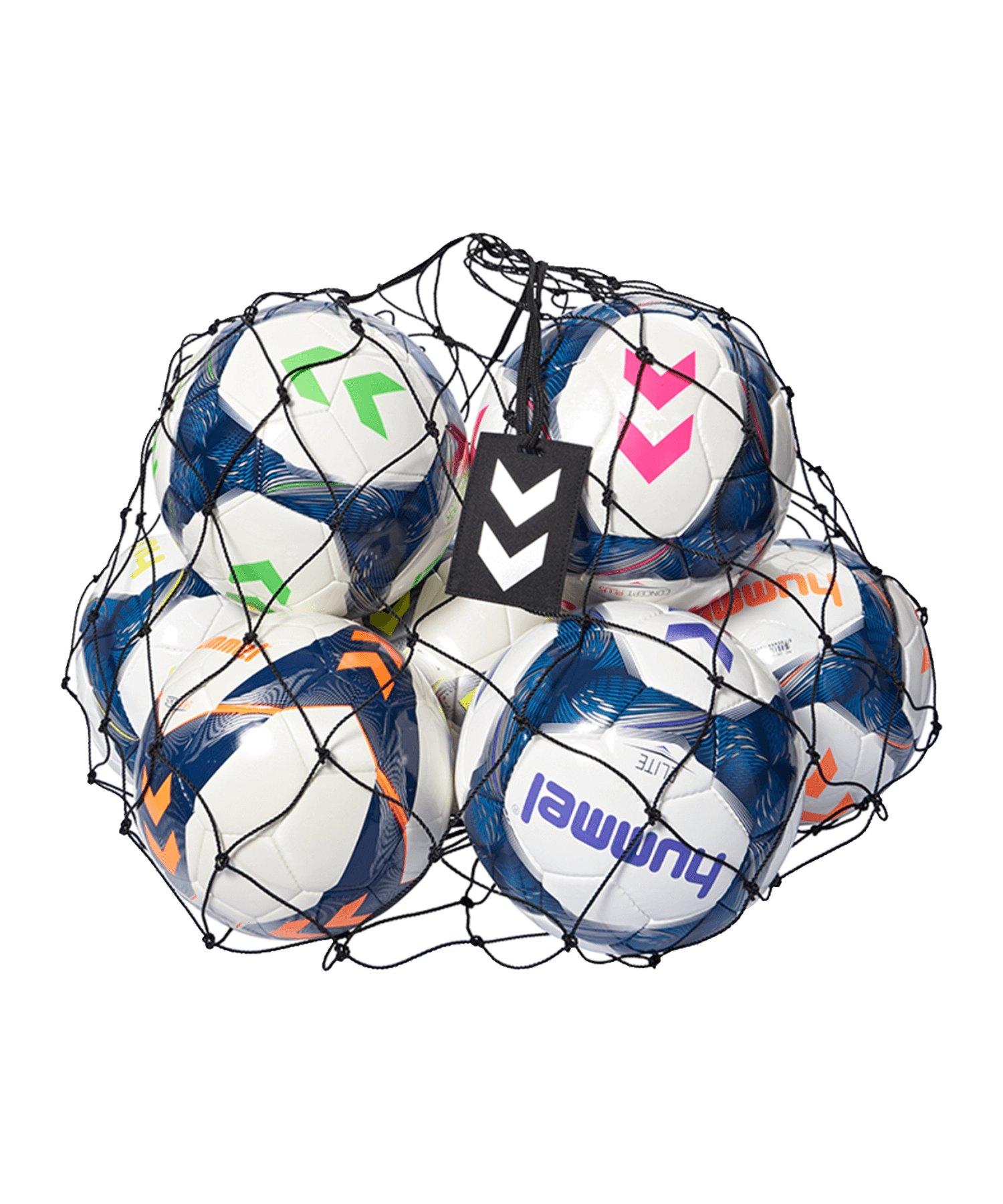 Hummel Ballnetz für 19 Bälle Schwarz F2001 - Schwarz