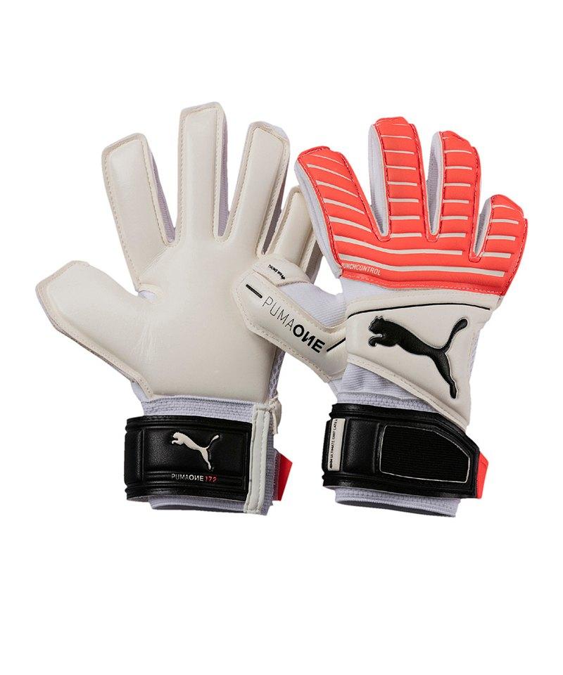 PUMA Handschuh ONE Grip 17.2 RC Kinder F01 - weiss
