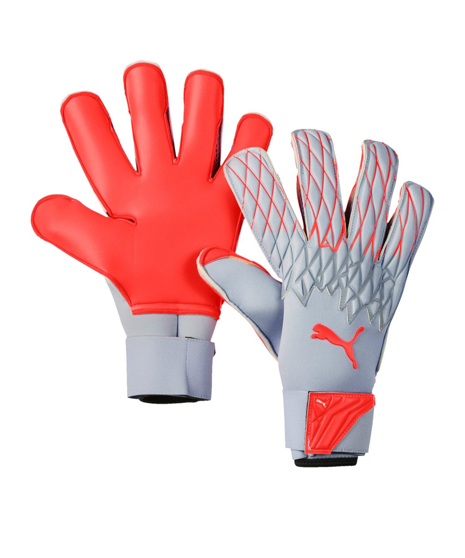 PUMA FUTURE Grip 19.2 TW-Handschuh Grau Rot F01 - Grau