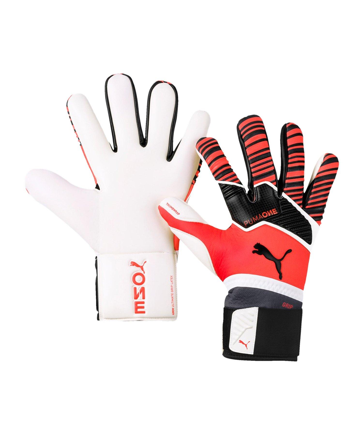 PUMA ONE Grip 1 Hybrid Pro TW-Handschuh Rot F01 - Rot