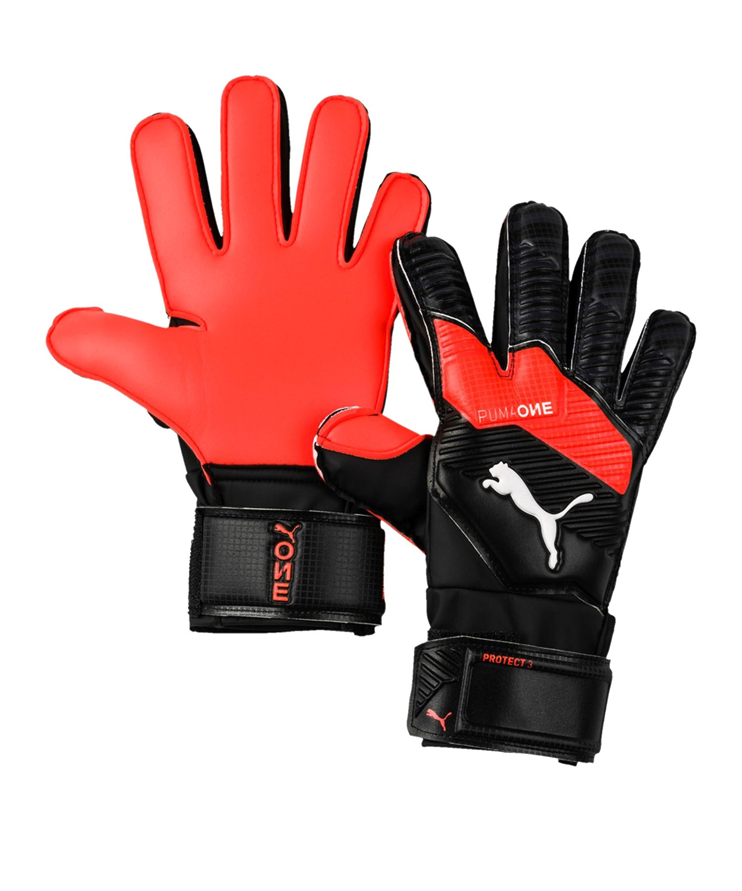 PUMA ONE Protect 3 TW-Handschuh Kids Schwarz F01 - Schwarz
