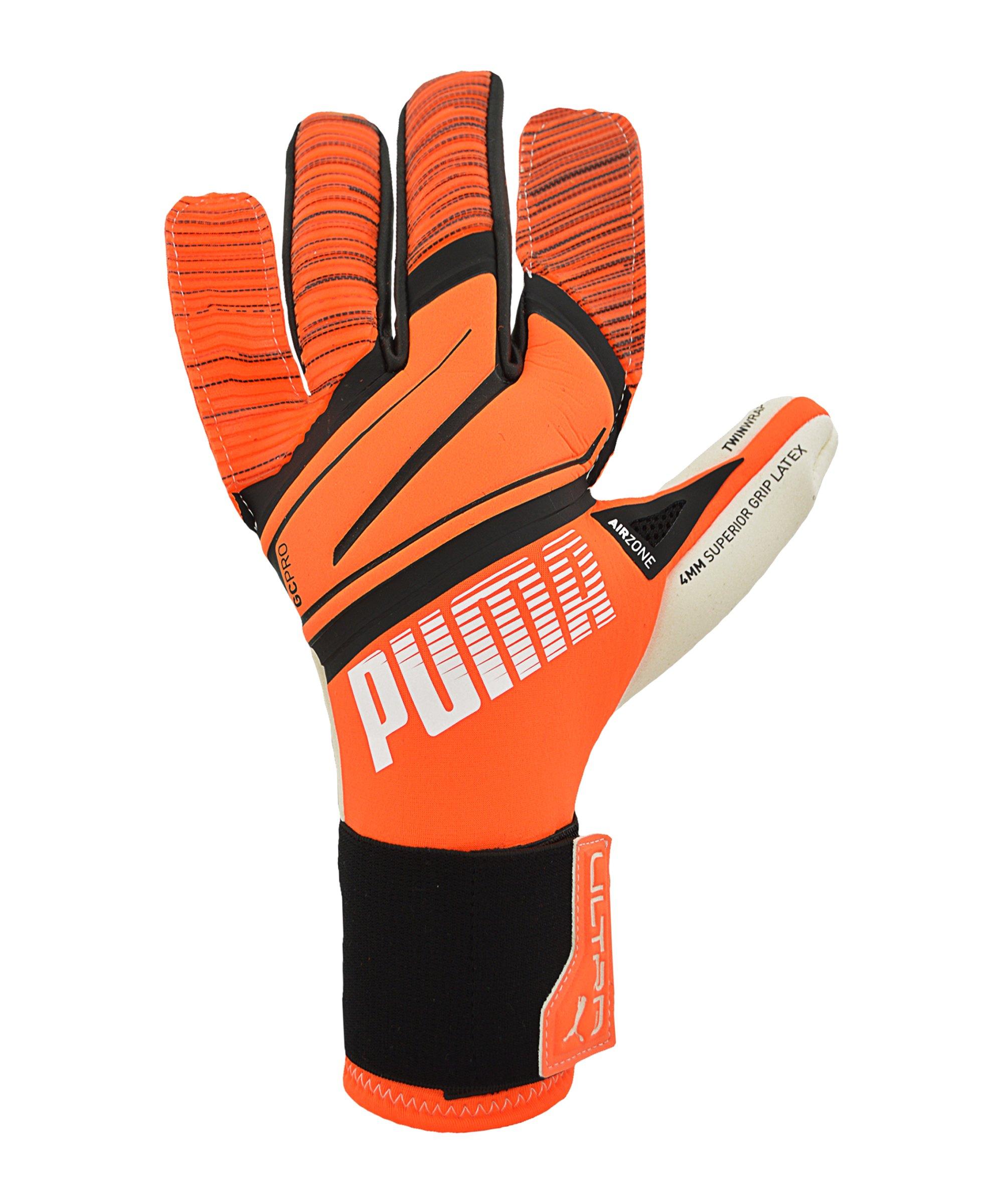 PUMA ULTRA Chasing Adrenalin Grip 1 Hybrid Pro Torwarthandschuh F01 - orange