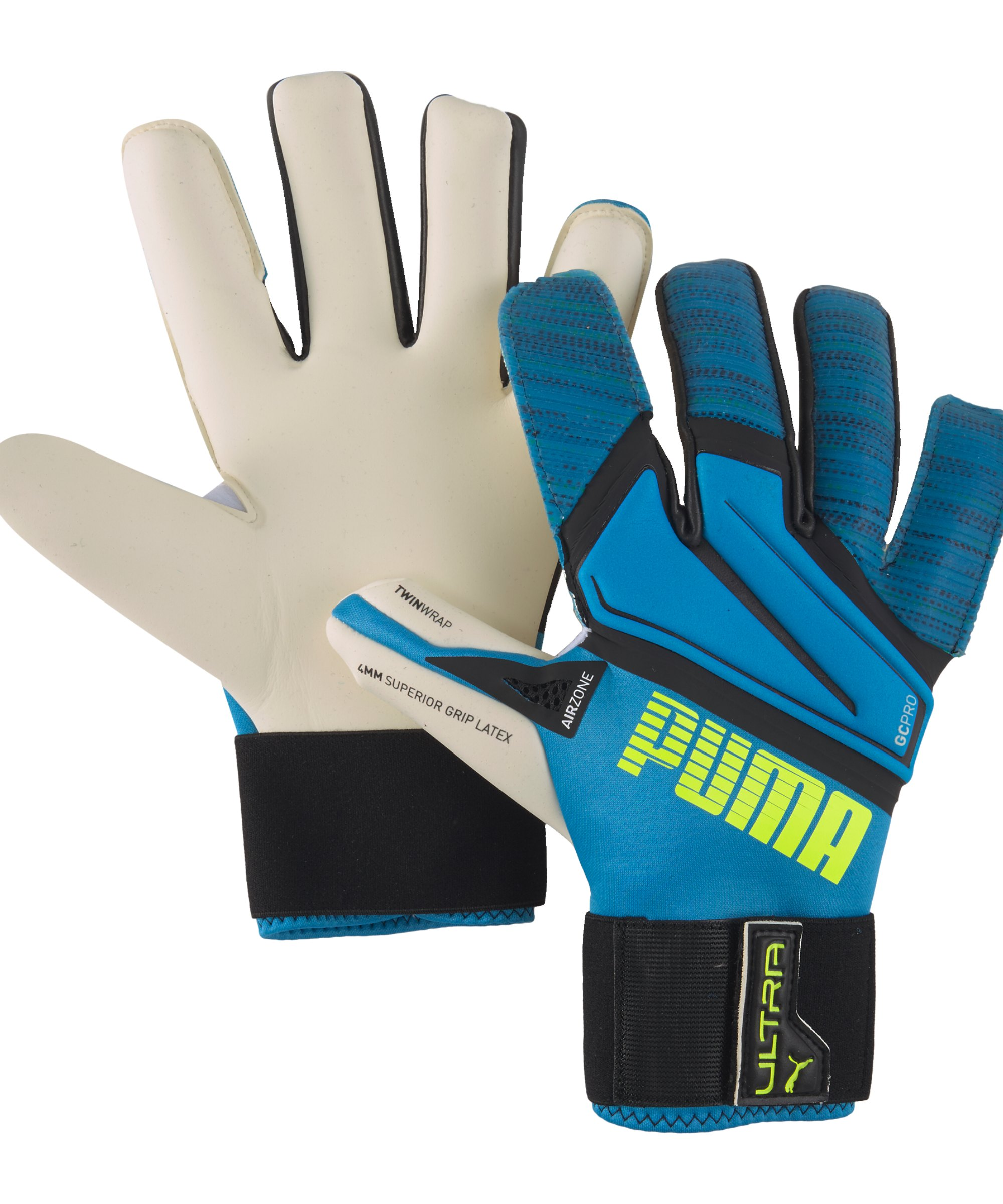 PUMA ULTRA Grip 1 Hybrid Pro Torwarthandschuh F07 - blau