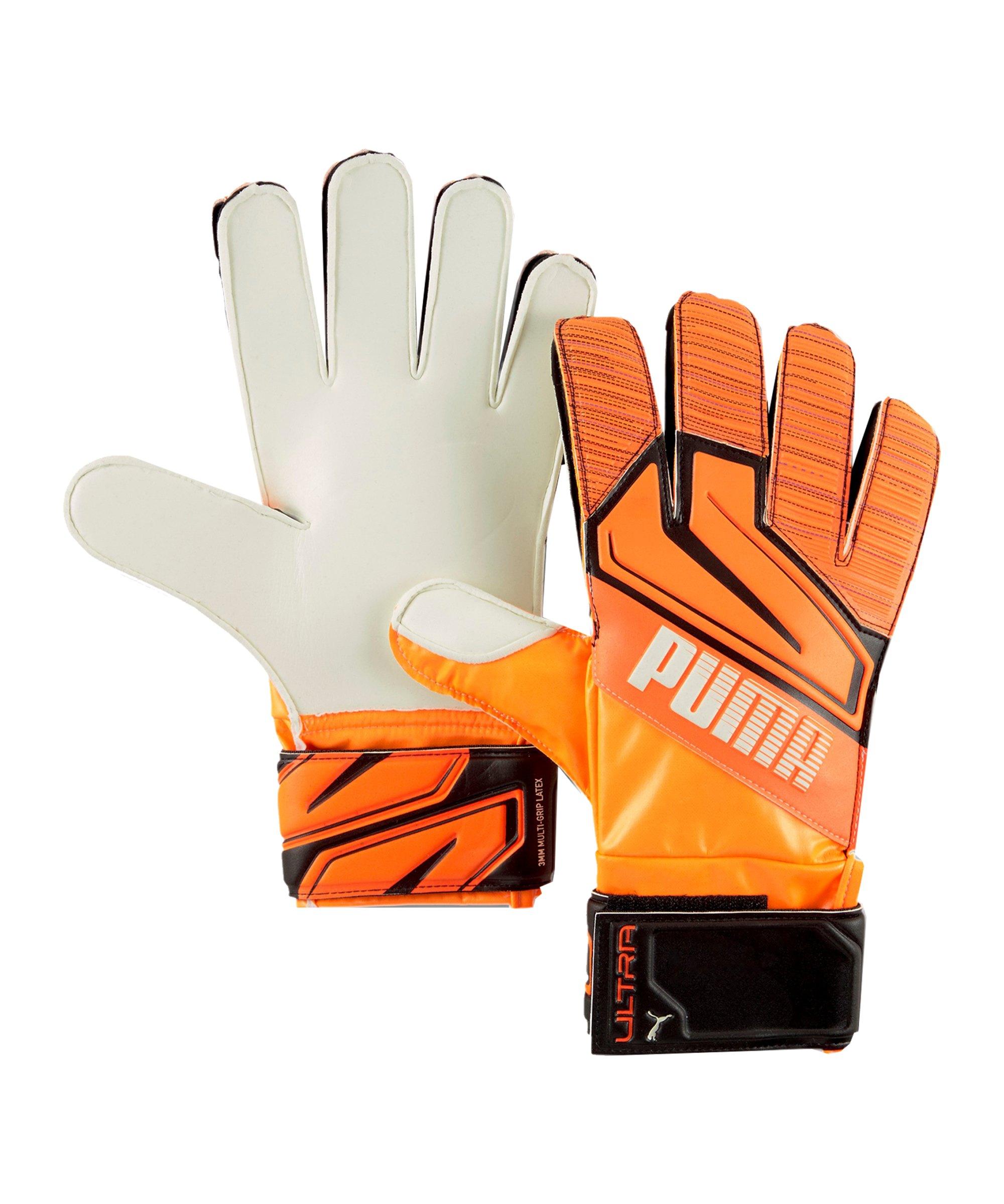 PUMA ULTRA Grip 3 RC Chasing Adrenalin Torwarthandschuh Orange F01 - orange