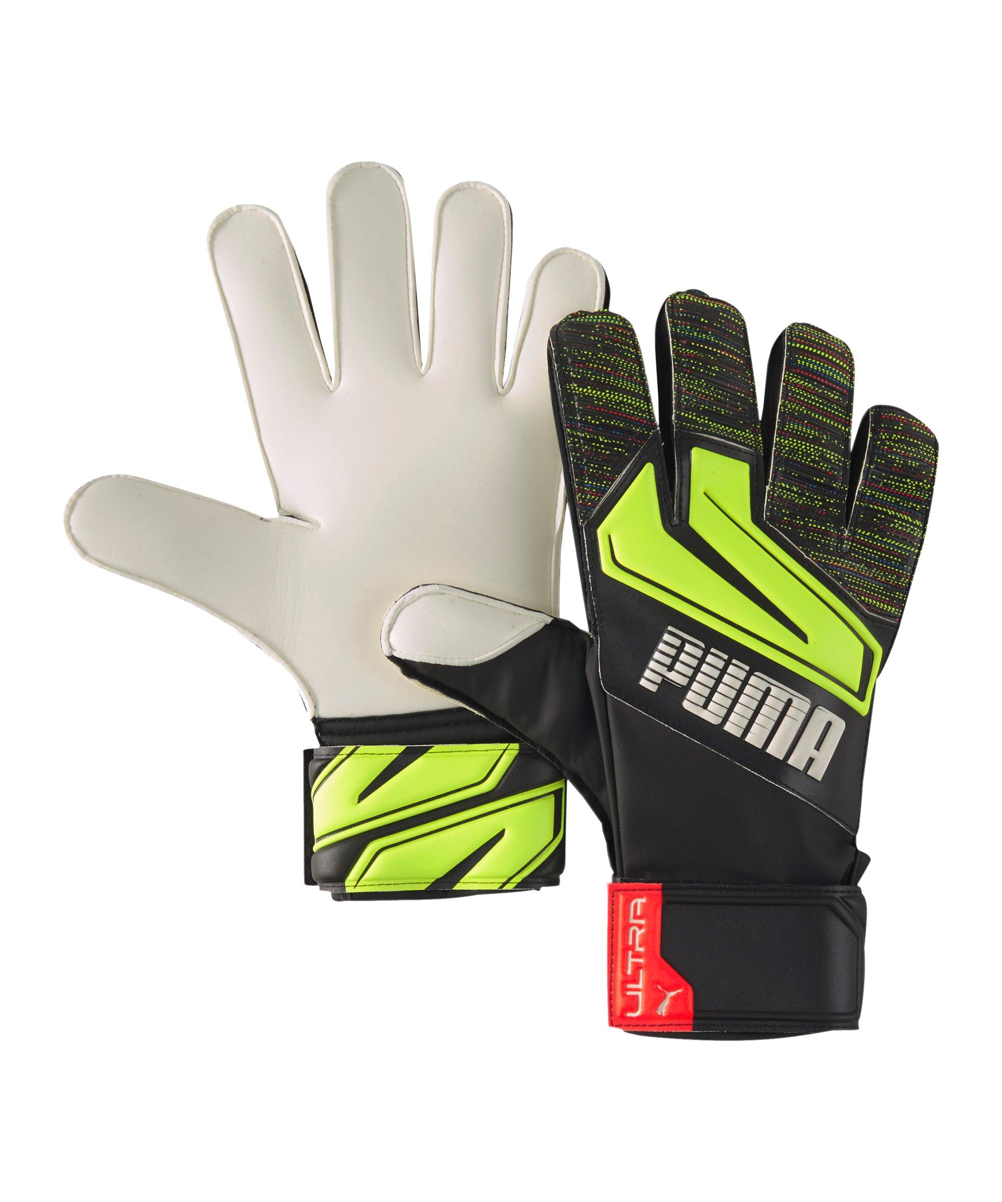 PUMA ULTRA Grip 3 RC TW-Handschuh Schwarz Gelb F08 - schwarz