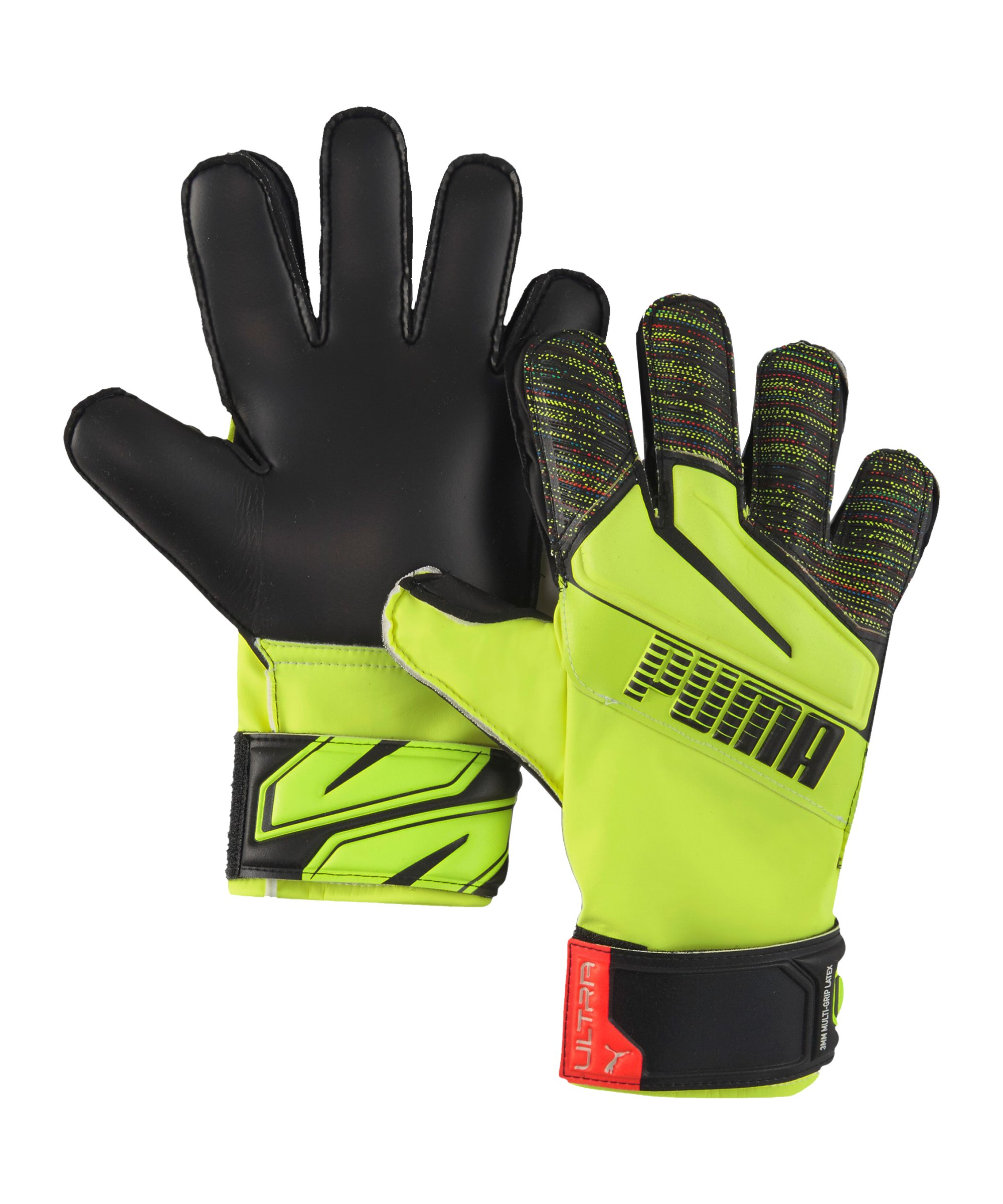 PUMA ULTRA Protect 3 Game ON RC TW-Handschuh Kids F02 - gelb