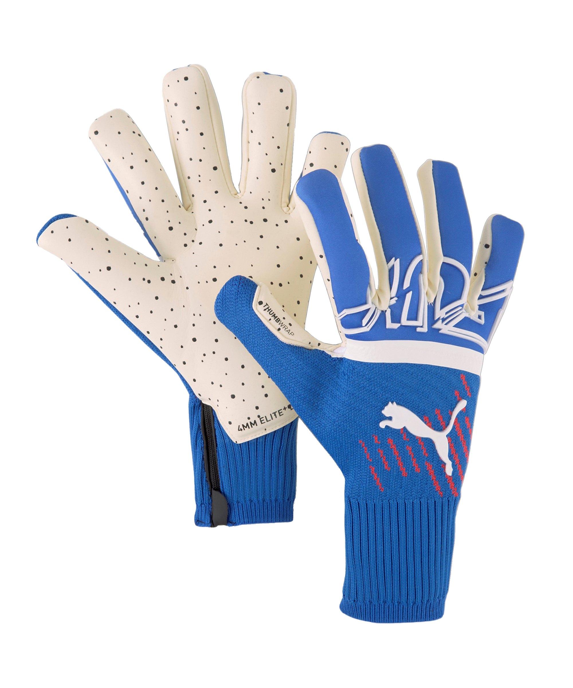 PUMA FUTURE Z Grip Hybrid Faster Football TW-Handschuh Blau F04 - blau