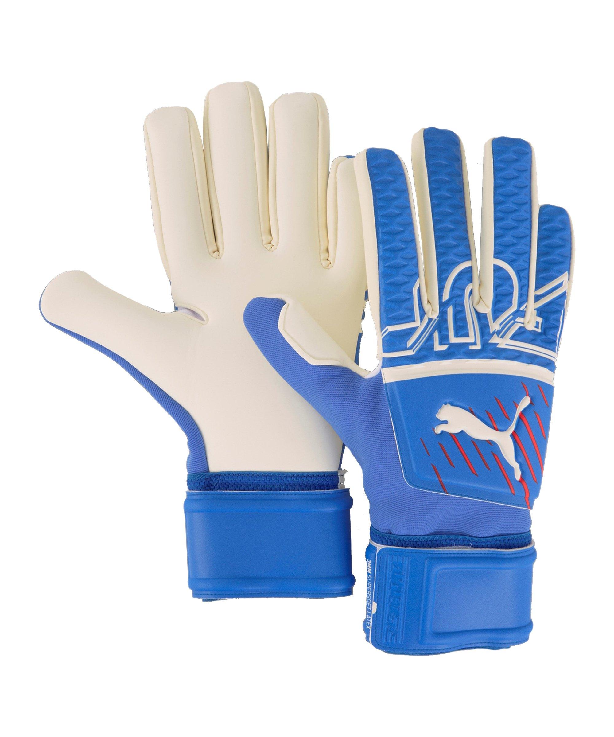 PUMA FUTURE Z Grip 3 NC Faster Football TW-Handschuh Blau F04 - blau