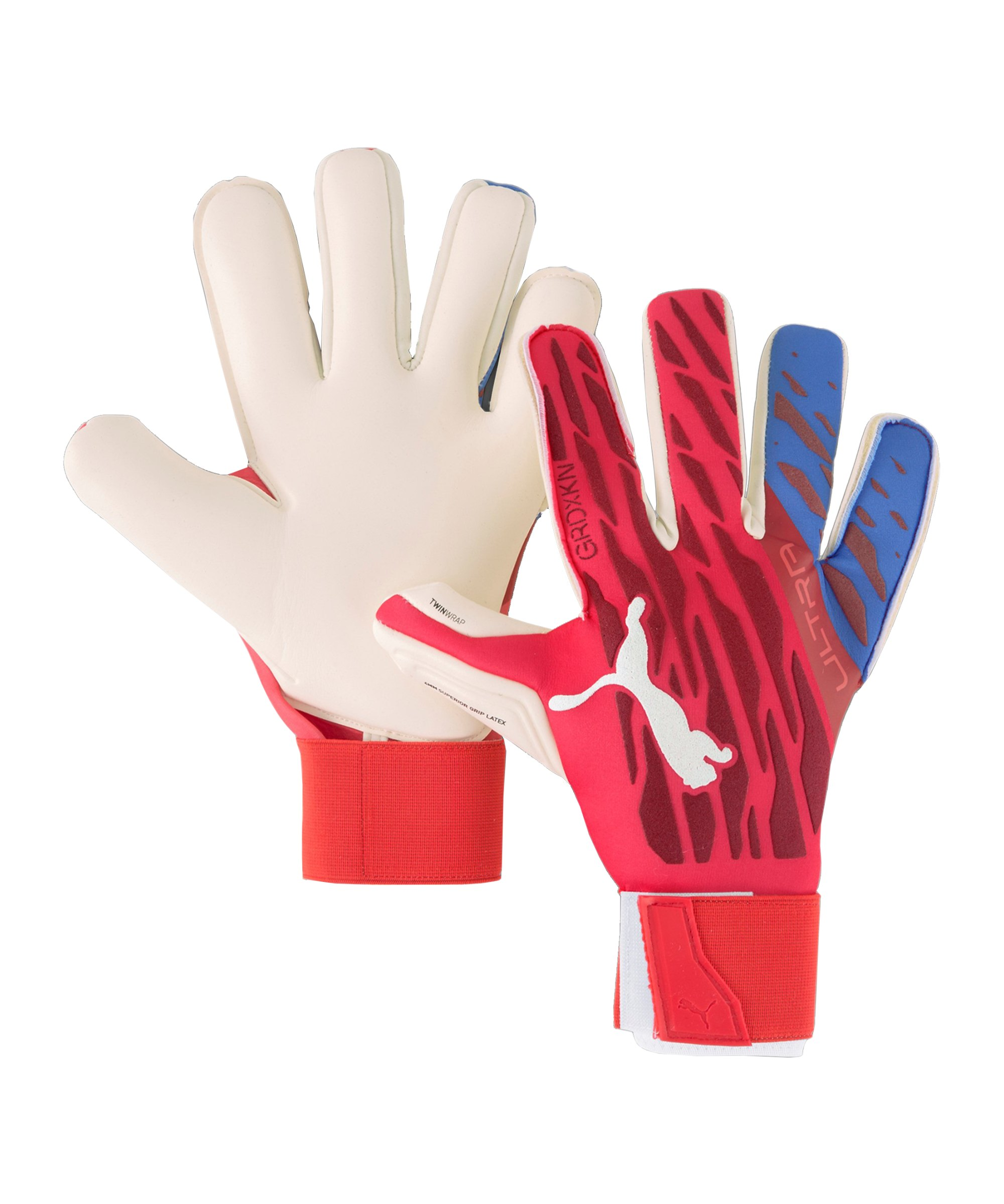 PUMA ULTRA Grip 1 Hyprid Pro Faster FootballTorwarthandschuh Rot F01 - rot