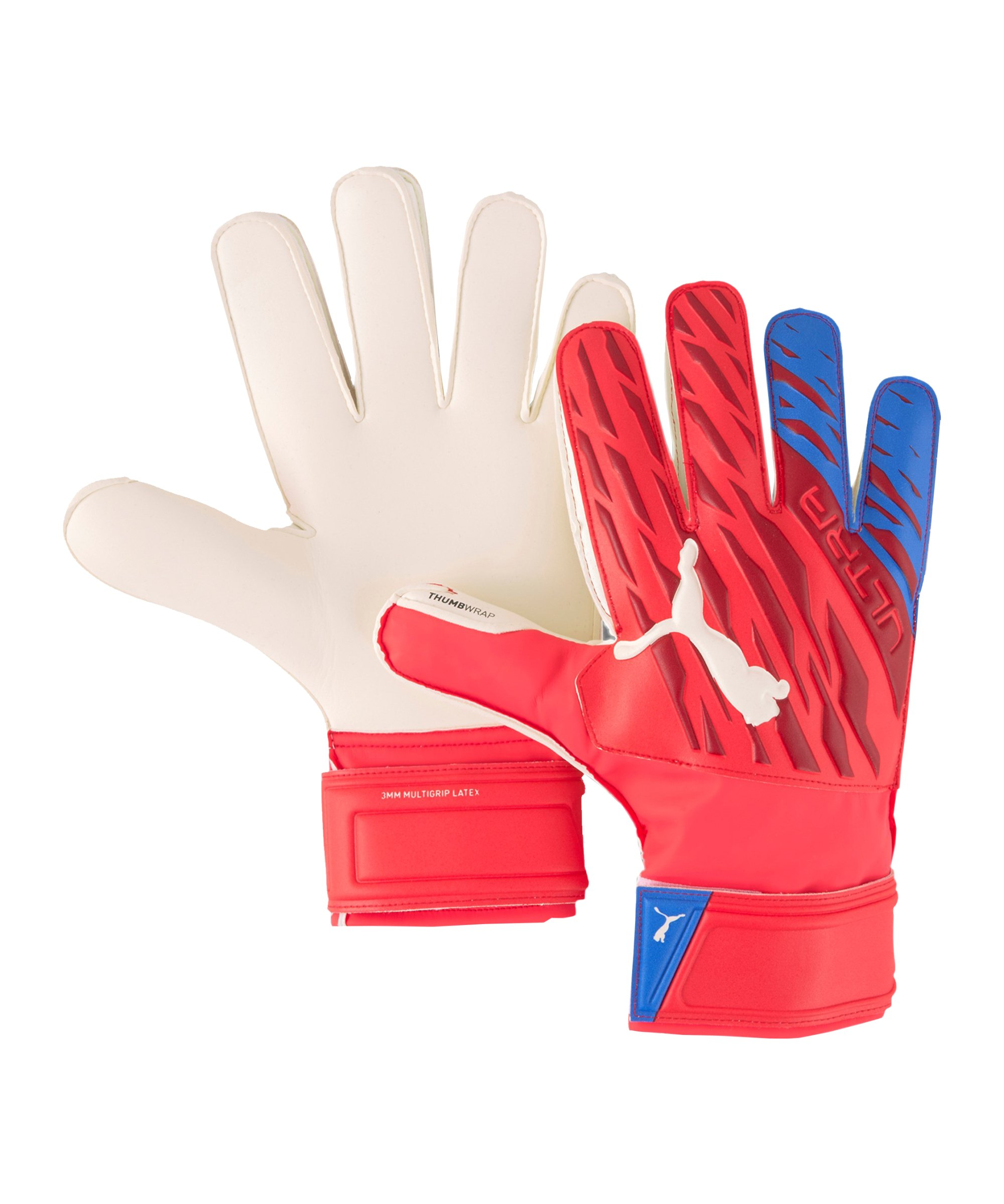 PUMA ULTRA Protect 3 RC Faster Football Torwarthandschuh Rot F01 - rot