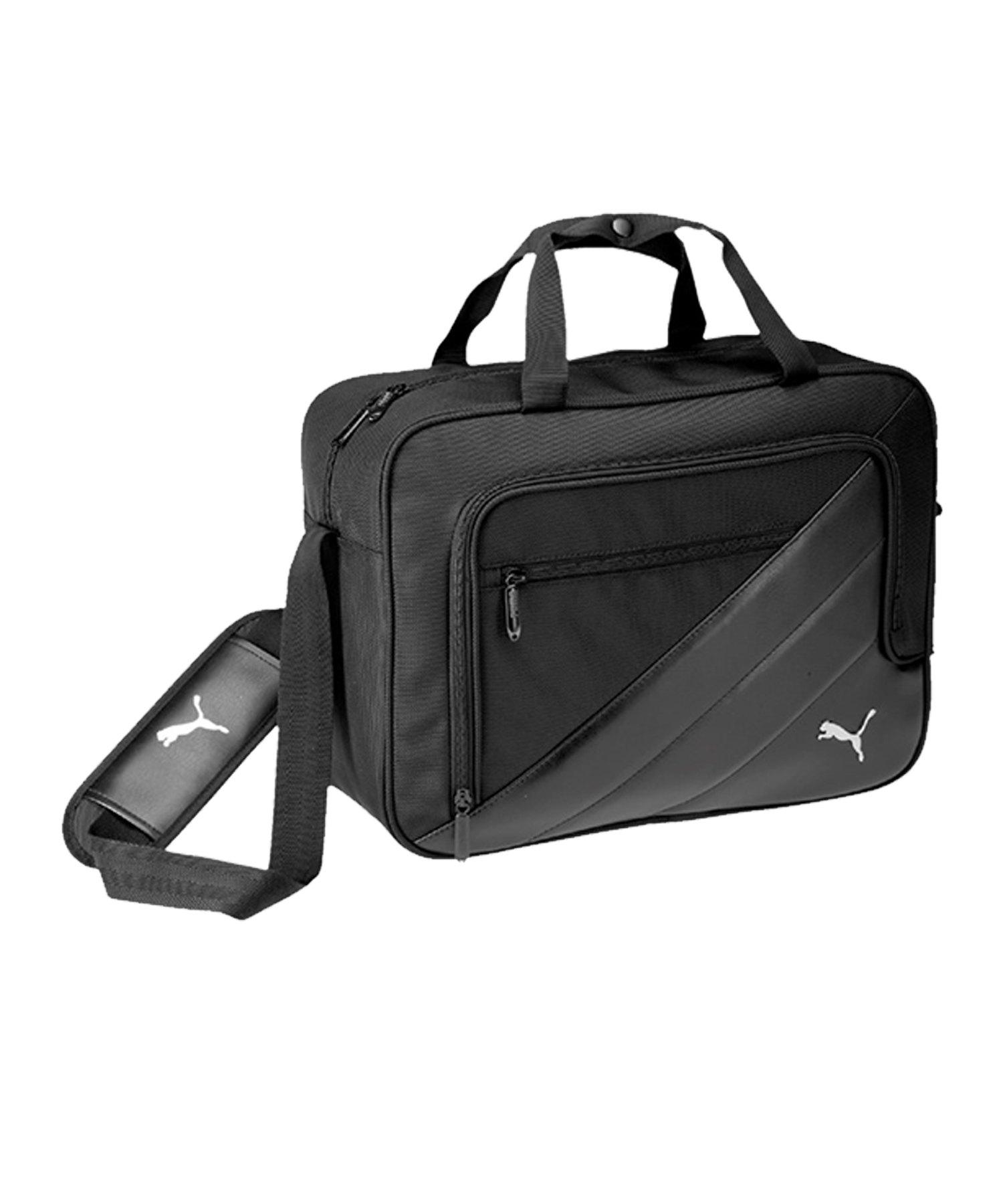 PUMA Team Messenger Bag Tasche Schwarz F01 - schwarz