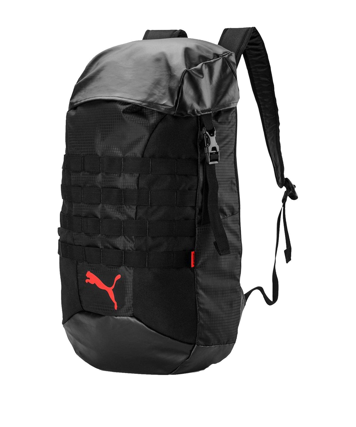 PUMA ftblNXT Backpack Rucksack Schwarz Rot F01 - Schwarz
