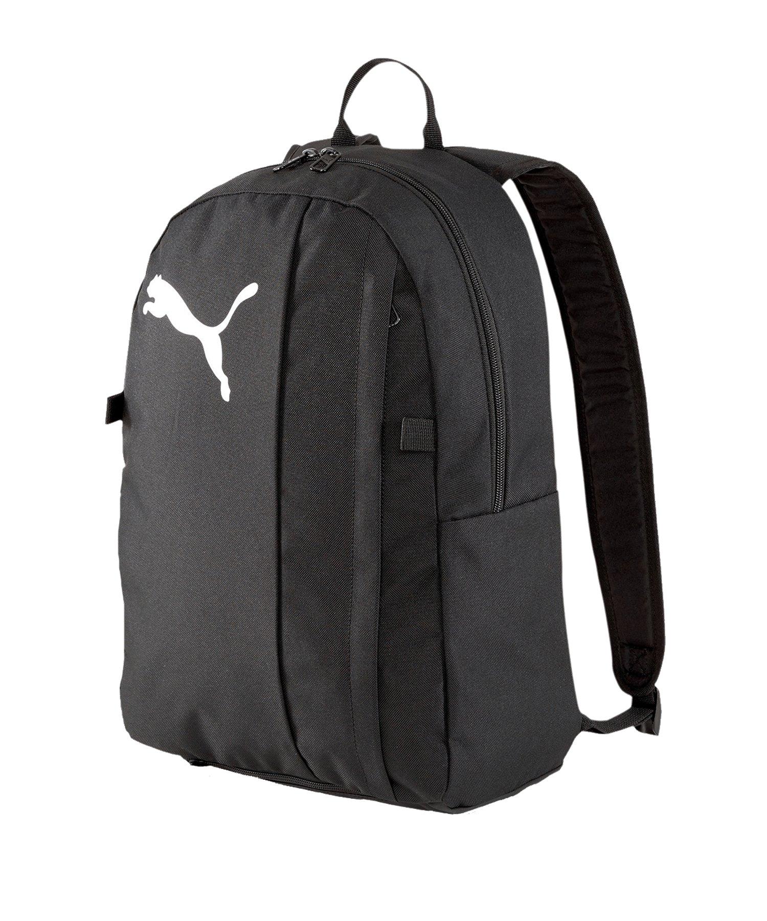 PUMA teamGOAL 23 Rucksack mit Ballnetz Schwarz F03 - schwarz