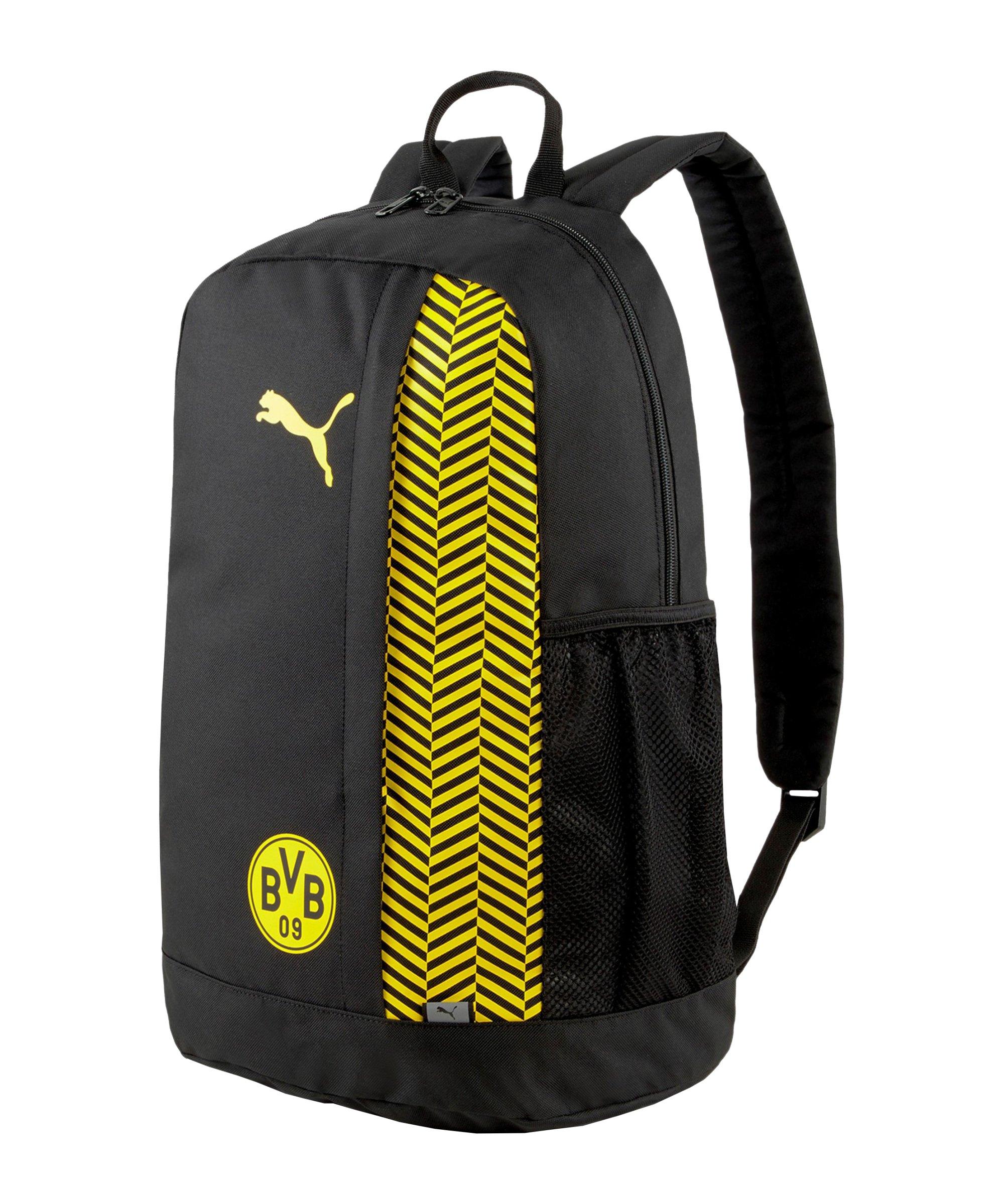 PUMA BVB Dortmund ftblCore Plus Rucksack F03 - schwarz